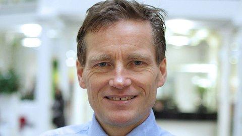DYSTER REKORD: Siden Oslo Børs ble revitalisert i 1982, har ikke åpningen i et første kvartal vært dårligere, sier investeringsdirektør Robert Næss i Nordea.