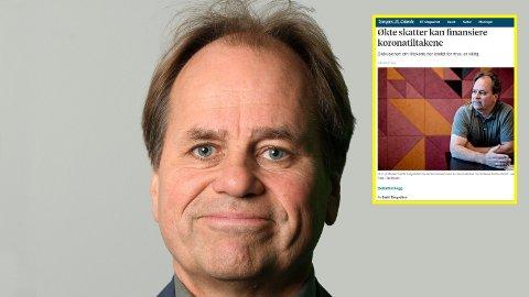 KORONA-SKATT: NHH-professor Bertil Tungoddden foreslår høyere skatter for å betale korona-regningen.