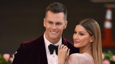 EKTESKAPSKRISE: Supermodellen Gisele Bündchen og Tom Brady er kjent for å være et av hollywoods mest stabile par. I et nytt, åpenhjertig intervju forteller Tom Brady om krisen som nesten ødela ekteskapet.