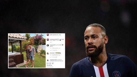 LYKKELIG: Neymars mor skal være lykkelig forelsket.