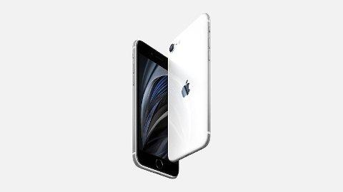2020-versjonen av iPhone SE har en startpris på 5500 kroner. Det er langt under toppmodellene, samtidig som SE-utgaven har en lynrask prosessor og kamerateknologi som imponerer på papiret.