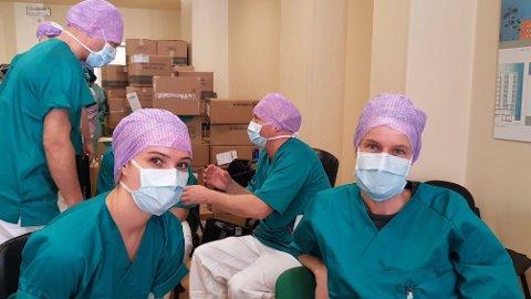 TIL ITALIA: Et norsk helseteam på 19 personer bistår det lokale helsevesenet i Nord-Italia under koronapandemien.