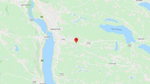 FUNN: Det har blitt funnet en død person ved elven Åretta i Lillehammer.