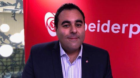 MASUD GHARAHKHANI: Ute av stand til å forklare Arbeiderpartiets ståsted i flyktning- og asylpolitikken. Foto Jørgen Bergen / Nettavisen
