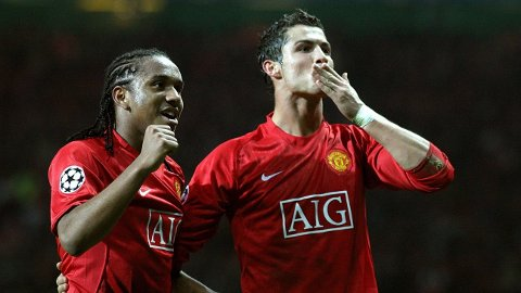 FEIRER: Manchester Uniteds Anderson, ett av talentene som ble borte. Her sammen med Cristiano Ronaldo.