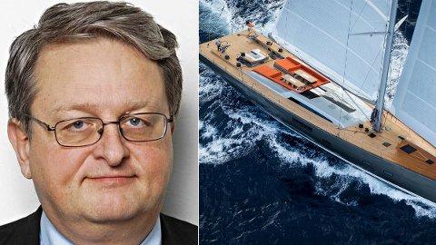 FYRER LØS: Eks-ordfører Arvid Grundekjøn fikk sponset luksusyacht av Nicolai Tangen. Nå fyrer han løs mot det han kaller «konspirasjoner» og nettroll.
