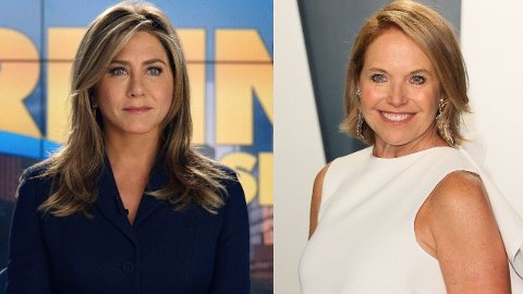 Jennifer Aniston i rollen som Alex Levy i «The Morning Show» er slående lik den tidligere «Today Show»-programlederen Katie Couric som rollen skal være basert på.