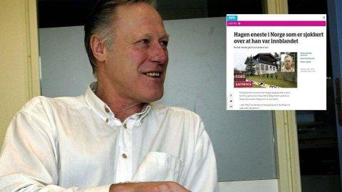 TRAKK SAKEN: NRK har avpublisert humorsaken om Tom Hagen fra sine nettsider og sosiale medier.