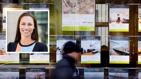 Skal dere kjøpe bolig sammen så gjør de nødvendig avtalene mens dere er i flytsonen, er et av flere tips fra forbrukerøkonom Cecilie Tvetenstrand.