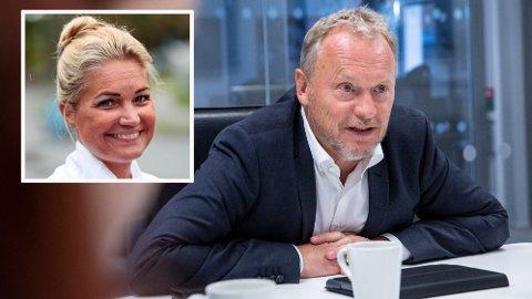 Cecilie Lyngby (FNB) og byrådsleder Raymond Johansen (Ap) er ikke samstemte i hvordan Oslo skal tilpasse seg fremtiden og det grønne skiftet.