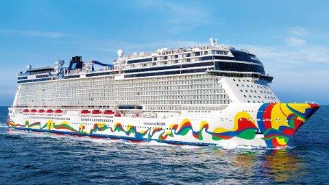 Norwegian Cruise Line opplyser på tirsdag at det er «betydelig tvil» om selskapets evne til å fortsette som en konsernselskap