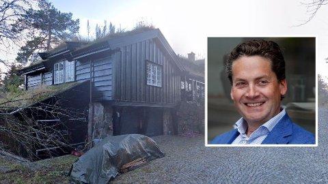 STORKJØP: Kahoot-sjef Eilert Hanoa har sikret seg en boligperle i Voksenkollen.