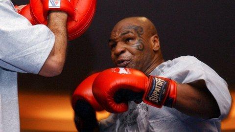 NEI: Mike Tyson har trukket seg fra en veldedighetskamp i Melbourne fordi de foreslåtte motstanderne ikke var «ekte boksere».