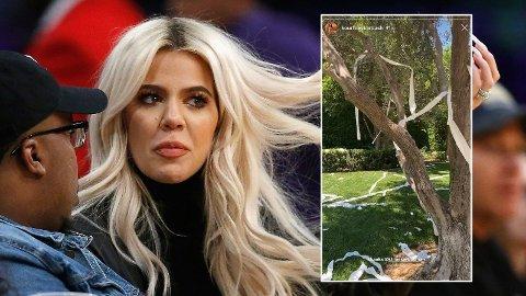 Kardashian-søstrene får gjennomgå på Twitter ette Khloés siste påfunn.