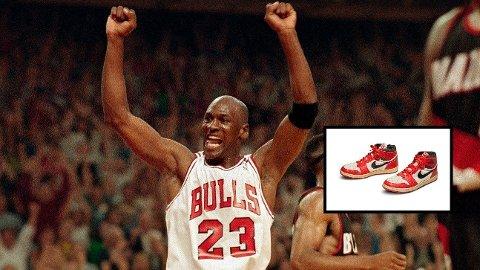 SKAPER HYSTERI: Netflix-serien The Last Dance har gitt ny oppmerksomhet til Michael Jordans sko.