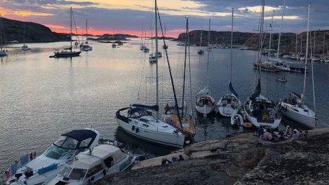 IDYLL: Den svenske vestkysten er et ettertraktet feriemål for mange nordmenn. Her fra Gluppö utenfor Fjällbacka.