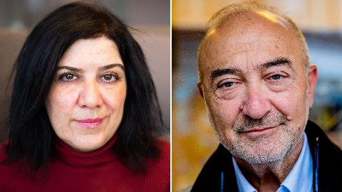 Nettavisen-kommentator Mina Bai og nestleder i Antirasistisk senter og forstander i Det mosaiske trossamfunn, Ervin Kohn.