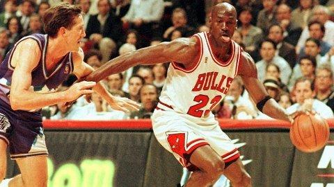 KRITISERES: Michael Jordan kritiseres for hvordan enkelte lagkamerater og rivaler fremstilles i The Last Dance.