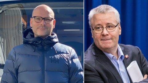 FØRERKORT-KØ: Enorme køer hos Statens vegvesen kan gi store økonomiske konsekvenser og føre til at familieferien ryker for Øyvind Tvedt (t.v.).
