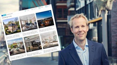 OPTIMISME: Sjeføkonom Christian Frengstad Bjerknes i NBBL kan melde om økende boligoptimisme i mai etter en kraftig nedtur i mars og april.