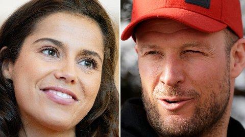 SAMMEN: Amalie Iuel og Aksel Lund Svindal har blitt et par.