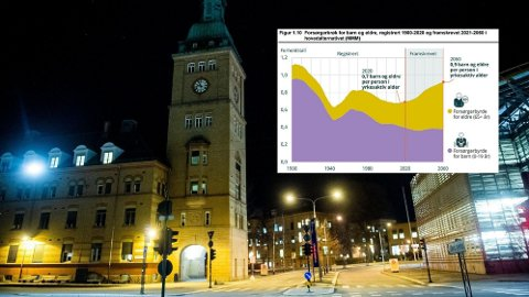 Ifølge SSB vil korona ikke føre til noen store endringer i hvor mange som dør i Norge, men vil få stor påvirkning på hvor mange som fødes - her representert ved Ullevål sykehus som har Norges største fødeavdeling. Det får enorme konsekvenser for Norges økonomi.