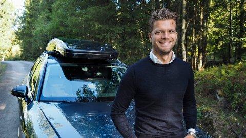 ØKNING: Bilsalget har gått kraftig opp i mai, sier Magnus Frøshaug Ryhjell, forretningsutvikler for Finn.no motor.