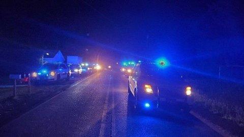 SKYTEEPISODE: Politiet rykket ut til en skyteepisode i Alabama.