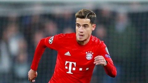 INGEN SUKSESS: Philippe Coutinho har ikke vært noen braksuksess i hverken Bayern München eller Barcelona.