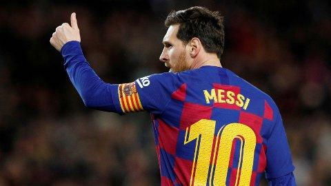 Messi er klar for kamp.