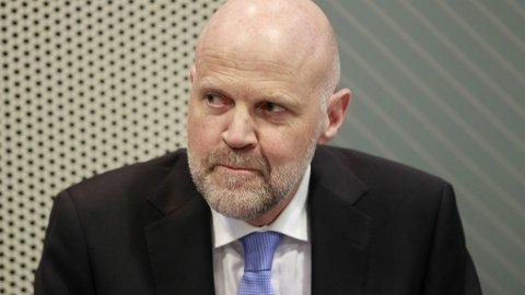 UTE MED NY RAPPORT: Morten Baltzersen i Finanstilsynet er som alltid opptatt av husholdningenes gjeld og sårbarhet for renteoppgang, men denne gangen er det koronaepidemien som står i sentrum.