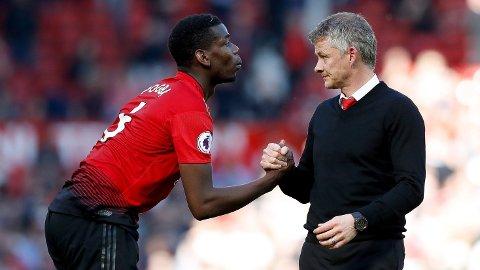 TILBAKE: Paul Pogba er tilbake for Ole Gunnar Solskjær og Manchester United.