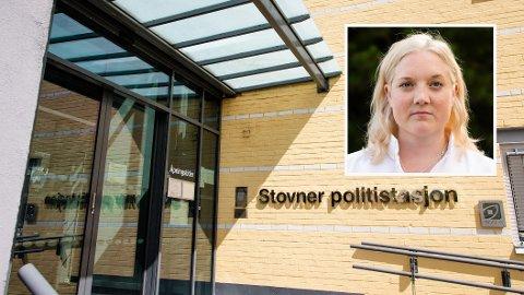 TO KAN BLI ÉN: Politistasjonene på Manglerud og Stovner kan bli samlet i en ny hovedstasjon på Oslos østkant. Frps Aina Stenersen (innfelt) synes ikke det er noen god idé.