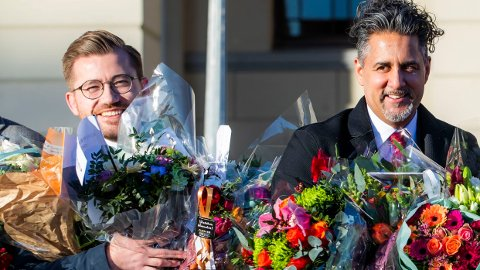 Klima- og miljøminister Sveinung Rotevatn og kultur- og likestillingsminister Abid Raja kan havne i ny leder-duell.