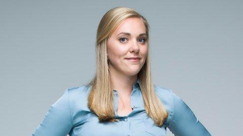 NYE PLANER: Lene Drange trives med flere baller i luften, og jobber nå for å lære unge å få et godt forhold til personlig økonomi. På toppen av dette ble hun nylig mamma, og fortsetter i TV3-jobben.