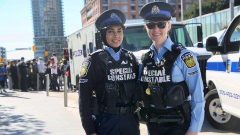 I Canada kan politiet allerede bruke hijab som en del av uniformen.