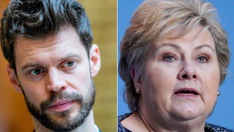 UAKSEPTABELT: Statsminister Erna Solberg mener regjeringen skal gå etter dem som holder igjen lønn og feriepenger under koronakrisen. Men regjeringen vil ikke betale ut feriepenger til soldater i Heimevernet.