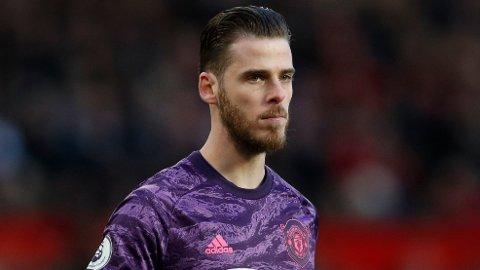 FÅR KRITIKK: Manchester United-keeper David de Gea.