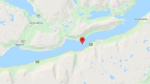 MC-ULYKKE: En person har vært involvert i en alvorlig MC-ulykke i Langfjorden i Finnmark.