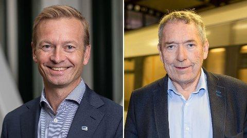- Uten Oslopakke 3 og E18, blir det ingen Fornebubane, og Oslo-regionen kan miste milliarder til kollektiv, sykkelveier og infrastruktur, skriver Høyres Helge Orten (t.v.) og Nils Aage Jegstad.