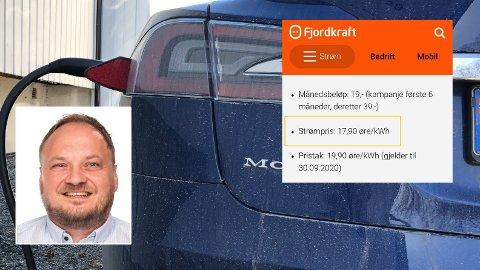 GARANTERT DYRT: Mens spotpris for tiden gir gratis strøm mange steder, tar Fjordkraft elleve ganger markedsprisen i sin Garantistrøm-avtale. - Definitivt en dårlig deal, synes analytiker Tor Reier Lilleholdt i Wattsight.