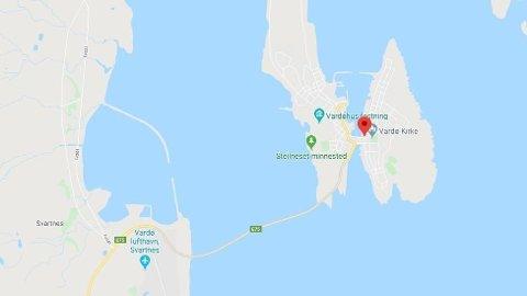 OMKOM: En mann ombord en fiskebåt omkom utenfor Vardø mandag ettermiddag.