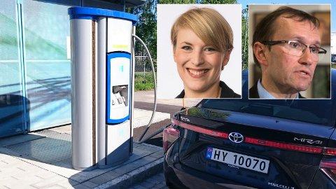 STORSATSING: – Vi står foran en formidabel energirevolusjon, sier Espen Barth Eide (Ap) som har sittet sammen med blant andre SVs Kari Elisabeth Kaski i utvalget som foreslår en norsk storsasting på hydrogenproduksjon.