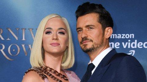 SNART FORELDRE: Om få uker blir Katy Perry og Orlando Bloom foreldre sammen for første gang. I et nytt intervju letter Perry på sløret om graviditeten.