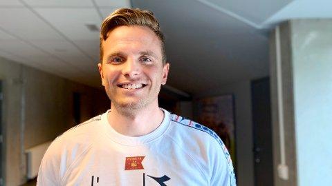 NY SJEF: – Jeg hadde ikke engang drømt om denne muligheten, og spesielt ikke i så ung alder, sier Eirik Bjørnø om å bli sjefen til Viking-trener Bjarne Berntsen.