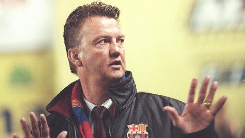 INGEN SUKSESS: Louis van Gaals andre opphold i Barcelona kan kanskje best beskrives som en katastrofe.