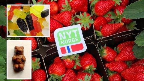 Tro det eller ei; Bamsemums og vingummi er dyrere enn norske jordbær.