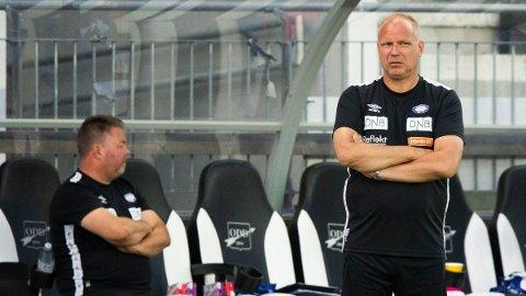 Dag Eilev Fagermo var ikke interessert i å si mye etter onsdagens tap.