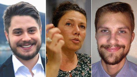 Jesper Nohr, Heidi Nordby Lunde og Espen Thygesen.
