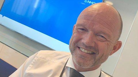 VELDIG BRA: - Vi opprettholder vi kjøpekraften med et nulloppgjør. Det er jo egentlig veldig bra i et kriseår, sier Ole Erik Almlid, administrerende direktør i NHO (Næringslivets Hovedorganisasjon).